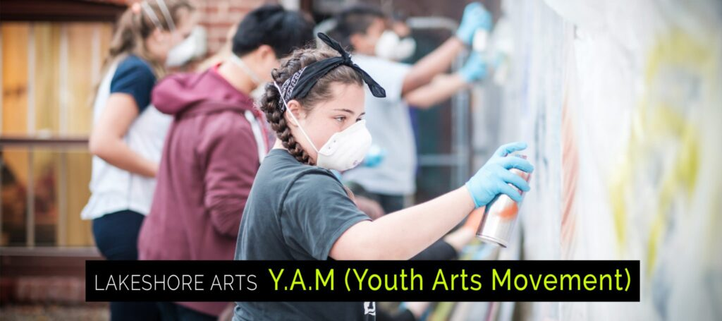 Youth Arts Programming, YAM, Lakeshore Arts, Youth Art Programming, Etobicoke, Toronto