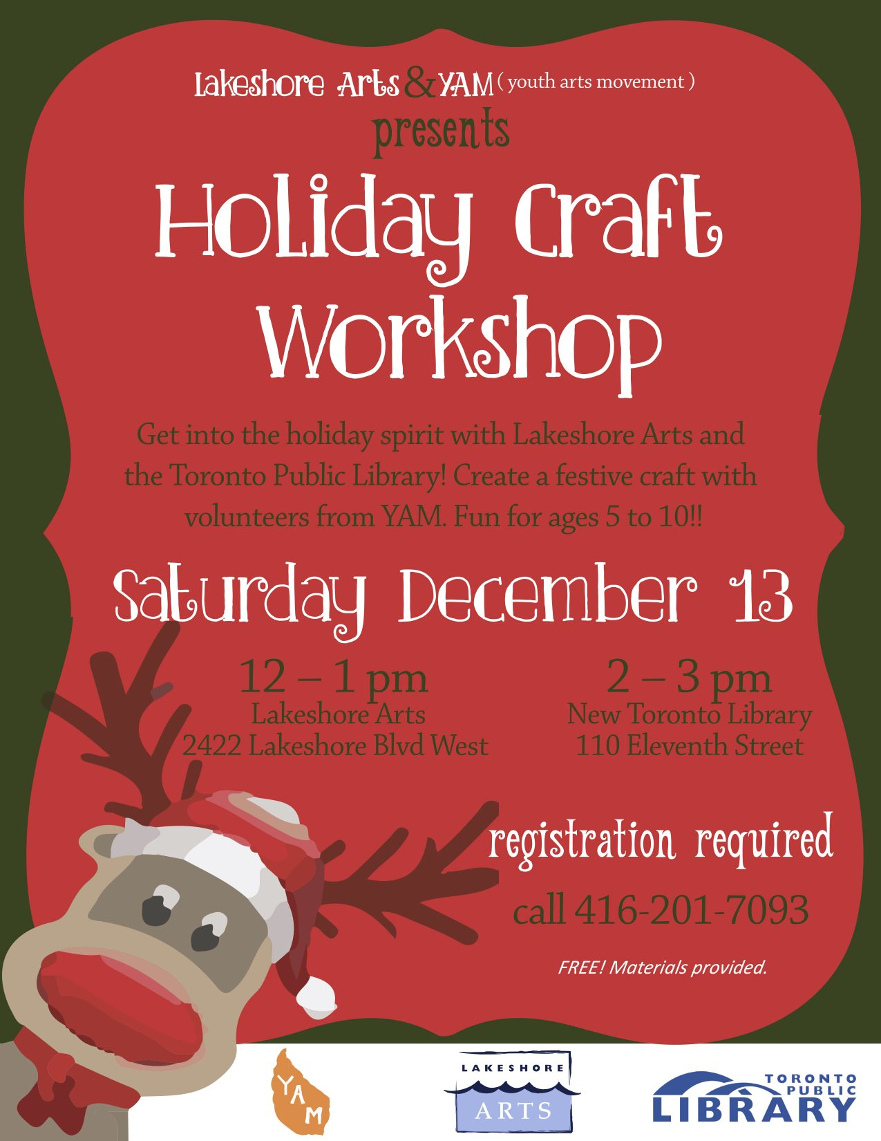 Holiday Craft Workshop