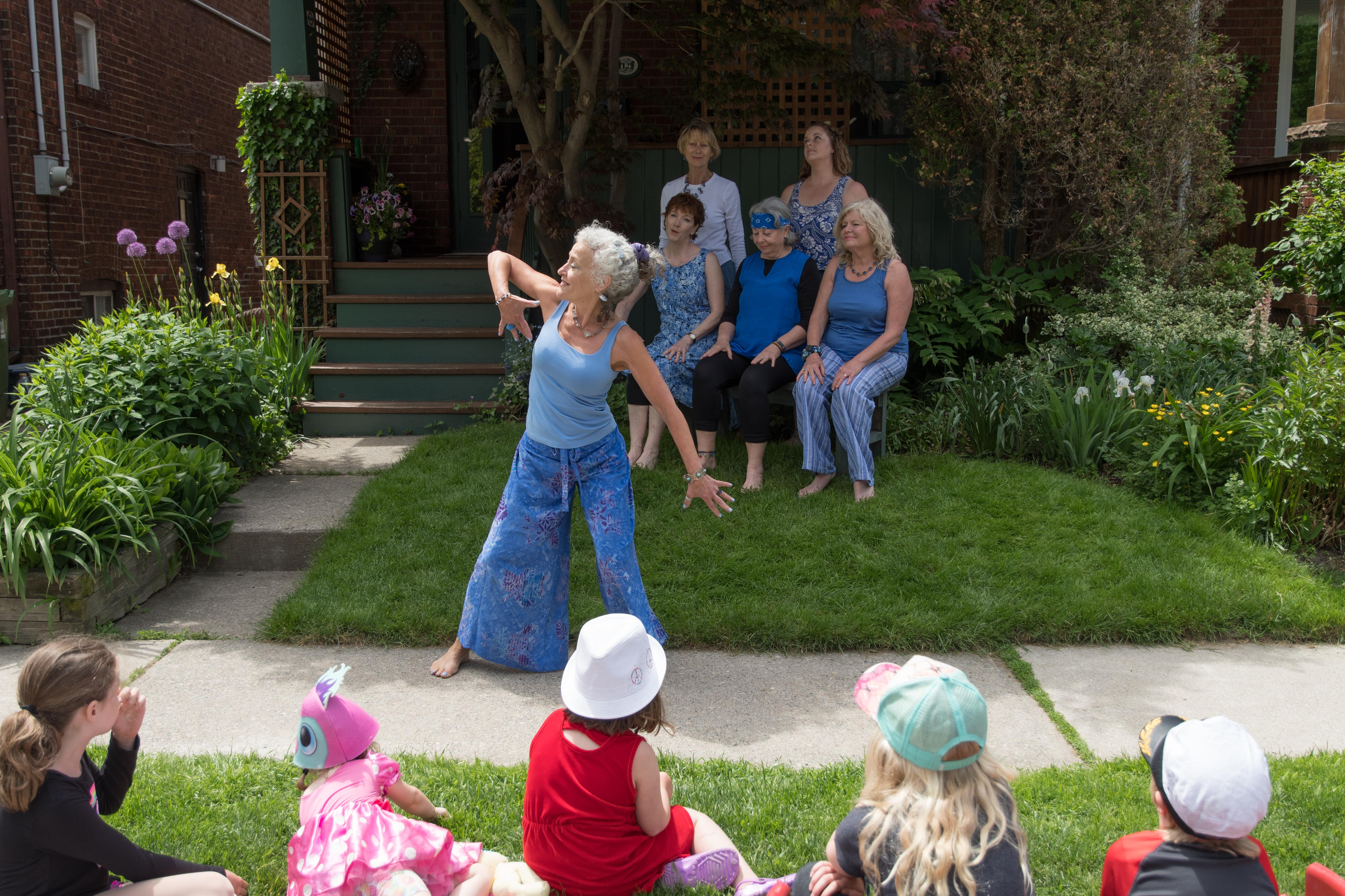 Backstage Pass to Porch View Dances: Mimico